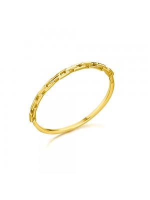 LeCarré anillo en oro cadena Links