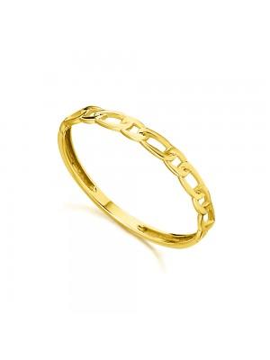 LeCarré anillo en oro cadena Figaro