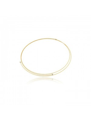 MagicWire, collar Perfect, en oro amarillo y titanio
