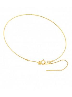 MagicWire, pulsera Angel, en oro amarillo y titanio