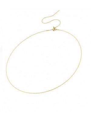 MagicWire, collar Angel, en oro amarillo y titanio