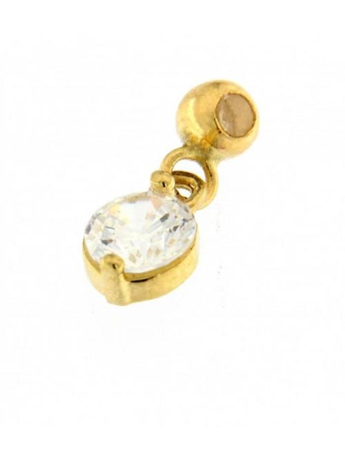 MagicWire, pulsera Neve, en oro amarillo, titanio y perlas