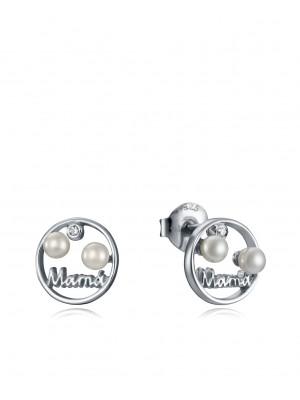 Viceroy pendientes Jewels en plata y perlas