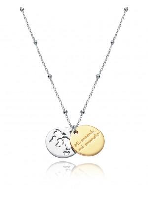 Viceroy collar plata diseño Trigo Jewels