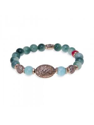 PlatadePalo pulsera Beads-WB224X