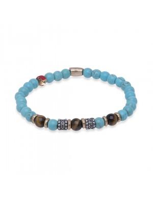 PlatadePalo pulsera Beads-B2D