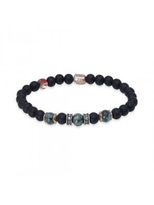 PlatadePalo pulsera Beads-B3D