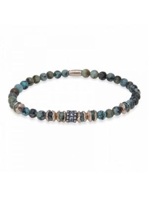 PlatadePalo pulsera Beads-B4F