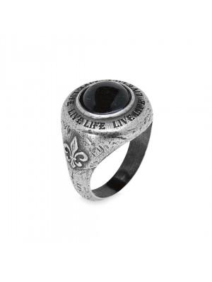 PlatadePalo anillo Man-RM9C