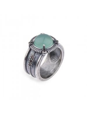 PlatadePalo anillo Woman-WR065X