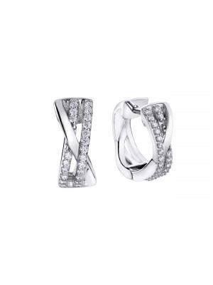 Pendientes Pretty Jewels Rosa de los Vientos en plata de Duran Exquse