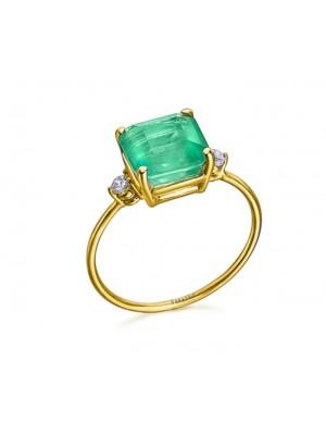 LeCarré anillo Green Love