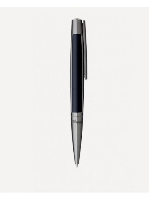 S.T. Dupont bolígrafo D-Initial Chrome finish Black