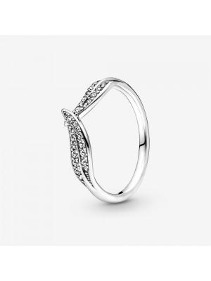 Pandora anillo en plata de ley Circonita Corazón