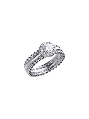 Diamonfire anillo rosetón
