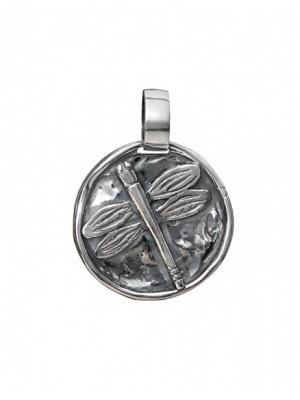 Styliano colgante de plata libelula