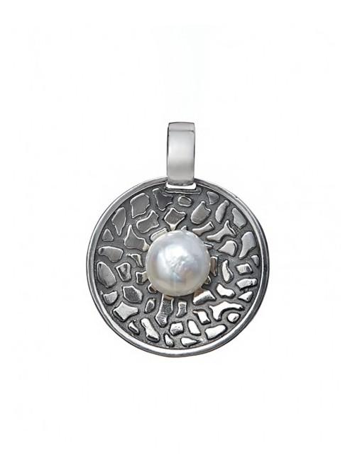Styliano colgante de plata Mayflower