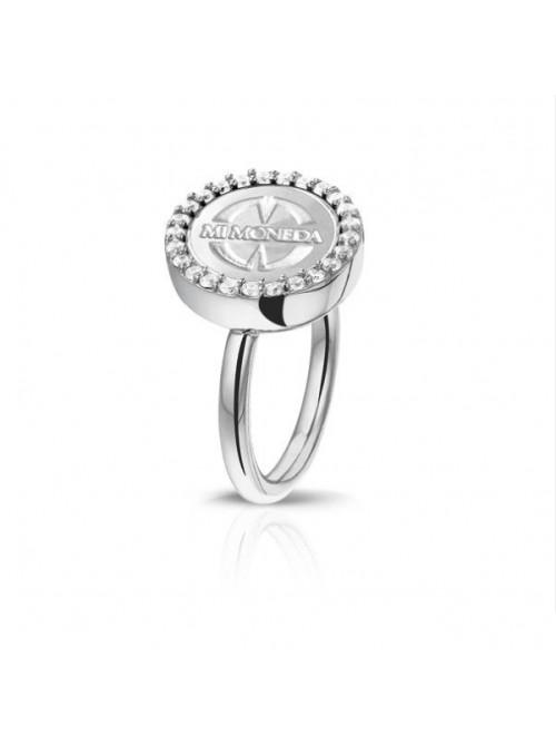 Mi Moneda, anillo Carpe Diem Deluxe plata de Ley