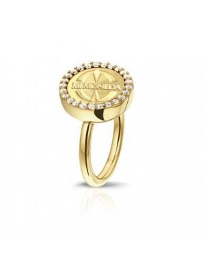 Mi Moneda, anillo Avo de Luxe plata de Ley Gold