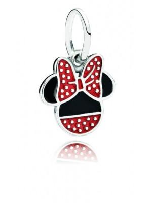 Pandora charm colgante plata Minnie esmalte