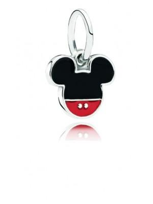 Pandora charm colgante plata Mickey esmalte