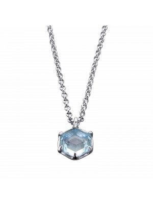 Colgante Hexagon mini plata de Duran Exquse