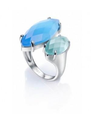 Viceroy anillo Jewels en plata de ley y piedras