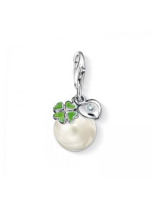Thomas Sabo, charm Colgante Perla diamante