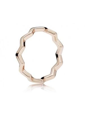 Pandora Rose anillo Zigzag Eterno