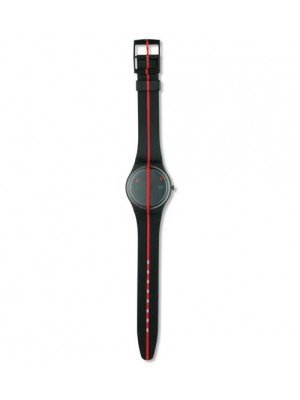 Swatch 360 Rouge Sur Blackout 9. Edition (GZ 119)