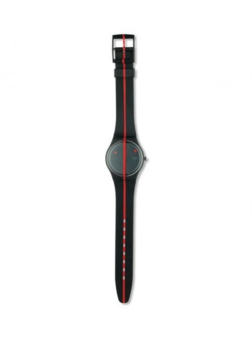 Swatch 360 Rouge Sur Blackout 9. Edition