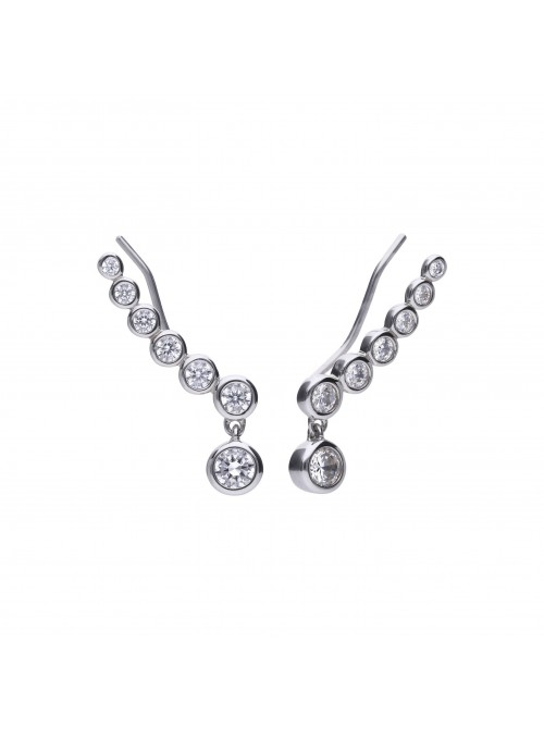 Diamonfire pendientes fantasia rigidos
