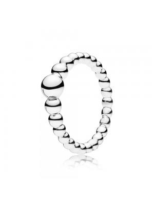 Pandora anillo en plata de Ley  Cadena de Cuentas