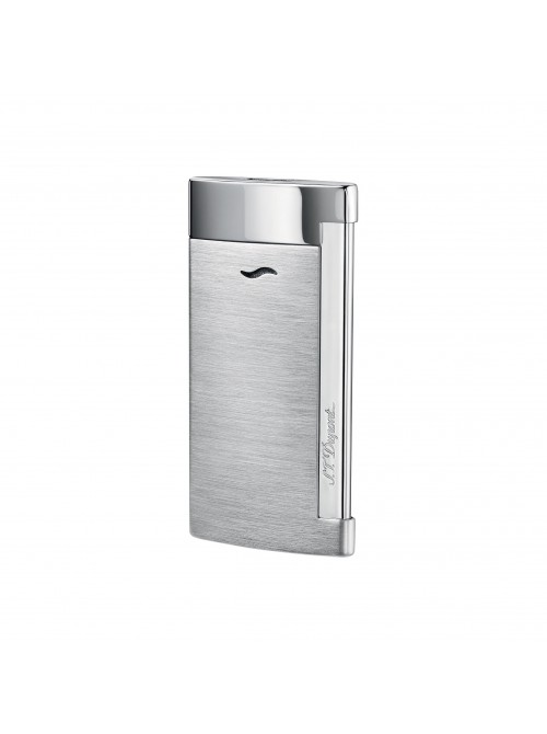 S.T. Dupont Slim 7 Lighter Chrome Grey