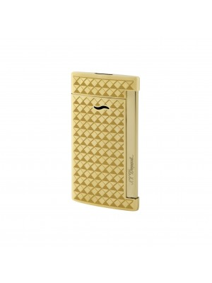S.T. Dupont Slim 7 Golden Fire Head Lighter