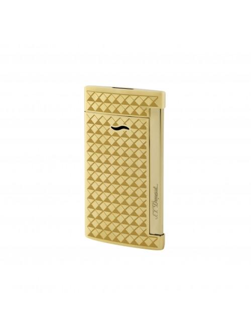 S.T. Dupont Slim 7 Golden Fire Head Lighter