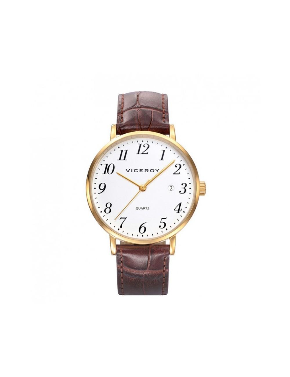 fdbaf55075a3 Viceroy reloj Classic 38mm dorado piel. Loading zoom