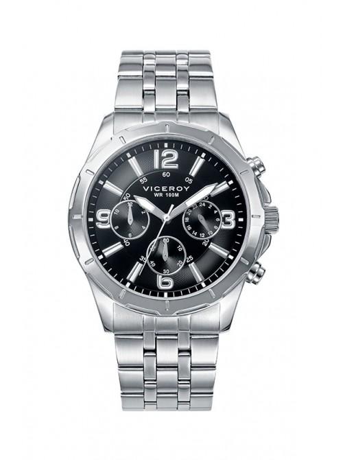 Viceroy reloj Heat 42,5mm multifunción acero