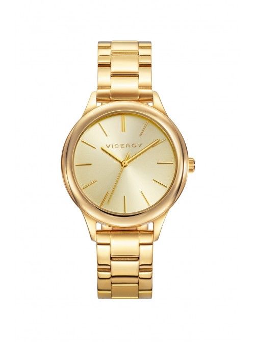 Viceroy reloj Chic 36mm acero PVD dorado