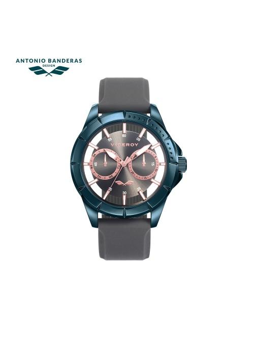 Viceroy reloj Antonio Banderas 42mm acero PVD azul