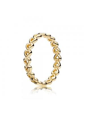 Pandora Shine anillo Amor entrelazado