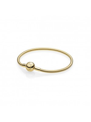 Pandora Shine pulsera Moments sin roscas para charms