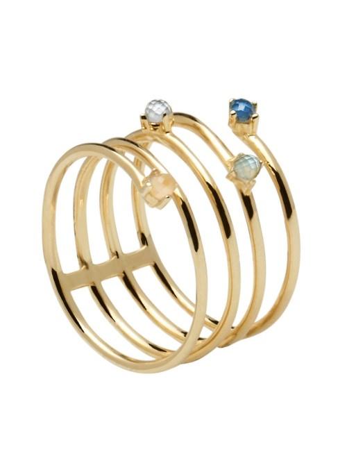 P D Paola anillo Ultramarine Gold