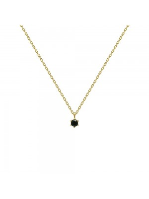 P D Paola Collar Black Holiday