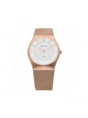 Bering Classic Collection oro rosa cepillado