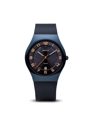 Bering Classic Collection azul cepillado