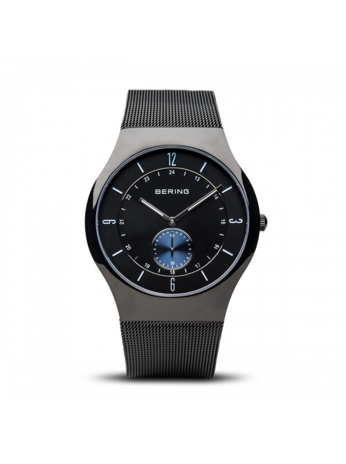 Bering Classic Collection negro pulido