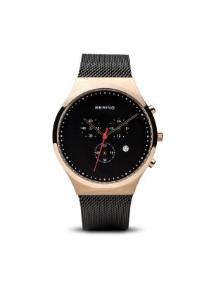 Bering Classic Collection oro rosa pulido cronografo 40mm