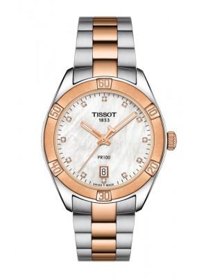 Tissot PR 100 Sport Chic diamantes