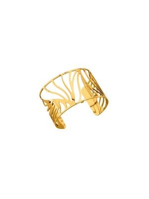 Les Georgettes brazalete Perroquet oro amarillo 40mm